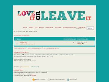 Love it or Leave it :: Phpbb3 Preview